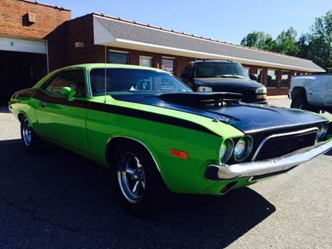 1973 Dodge Challenger for sale at Creekside Automotive in Lexington NC