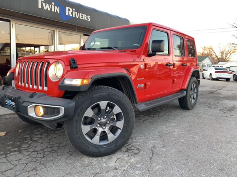 2018 jeep wrangler unlimited 4x4 sahara 4dr suv midyear. Black Bedroom Furniture Sets. Home Design Ideas