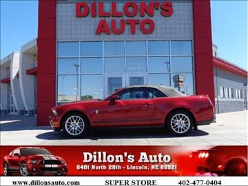 2012 Ford Mustang for sale in Lincoln, NE