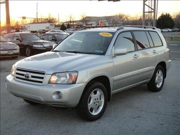 2006 Toyota Highlander for sale in New Castle, DE