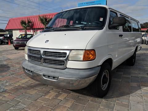 2001 Dodge Ram Wagon For Sale In Jacksonville FL