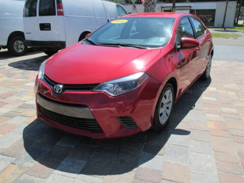 2016 Toyota Corolla for sale at Affordable Auto Motors in Jacksonville FL