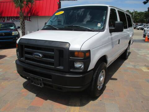 2013 Ford E-Series Wagon for sale at Affordable Auto Motors in Jacksonville FL