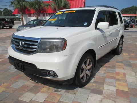 2012 Honda Pilot for sale at Affordable Auto Motors in Jacksonville FL