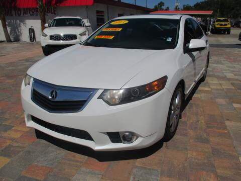 2013 Acura TSX for sale at Affordable Auto Motors in Jacksonville FL