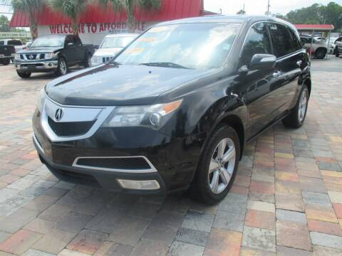 2012 Acura MDX for sale at Affordable Auto Motors in Jacksonville FL