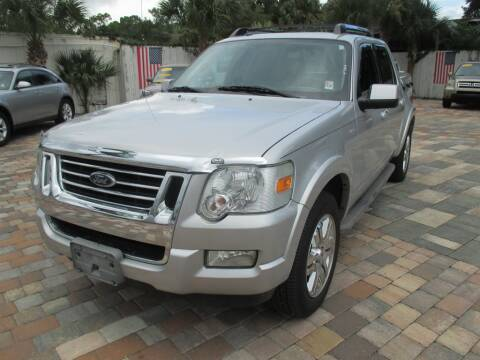 2010 Ford Explorer Sport Trac for sale at Affordable Auto Motors in Jacksonville FL