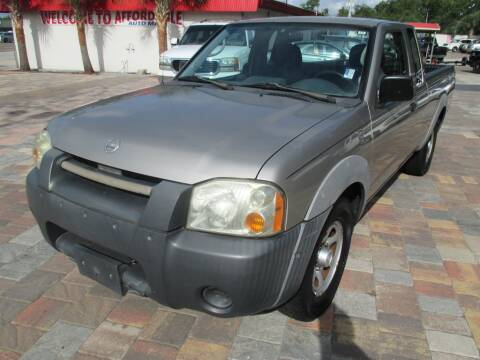 2002 Nissan Frontier for sale at Affordable Auto Motors in Jacksonville FL