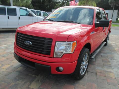 2014 Ford F-150 for sale at Affordable Auto Motors in Jacksonville FL