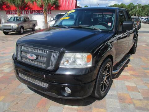 2006 Ford F-150 for sale at Affordable Auto Motors in Jacksonville FL