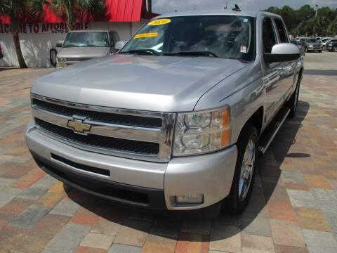 2010 Chevrolet Silverado 1500 for sale at Affordable Auto Motors in Jacksonville FL