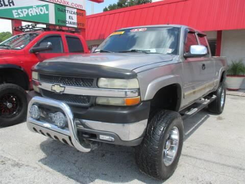 2001 Chevrolet Silverado 2500HD for sale at Affordable Auto Motors in Jacksonville FL