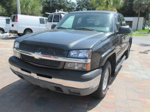 2004 Chevrolet Silverado 1500 for sale at Affordable Auto Motors in Jacksonville FL