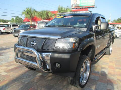 2006 Nissan Titan for sale at Affordable Auto Motors in Jacksonville FL