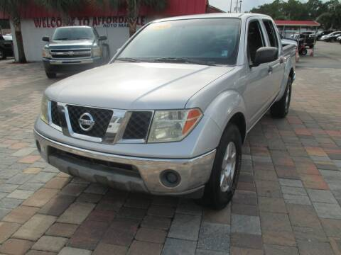 2008 Nissan Frontier for sale at Affordable Auto Motors in Jacksonville FL