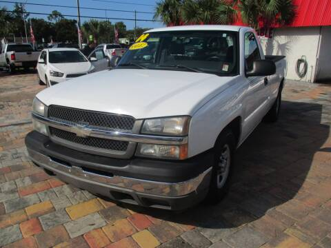 2004 Chevrolet Silverado 1500 for sale at Affordable Auto Motors in Jacksonville FL