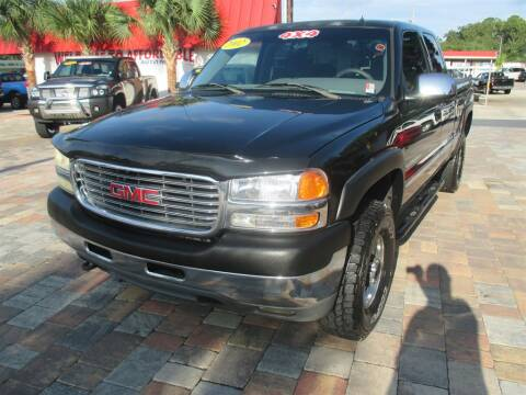 2002 GMC Sierra 2500HD for sale at Affordable Auto Motors in Jacksonville FL