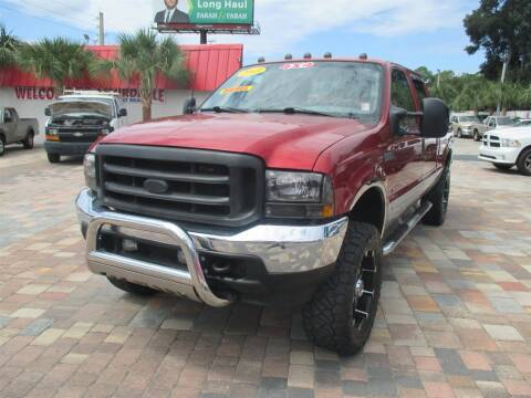 2003 Ford F-250 Super Duty for sale at Affordable Auto Motors in Jacksonville FL