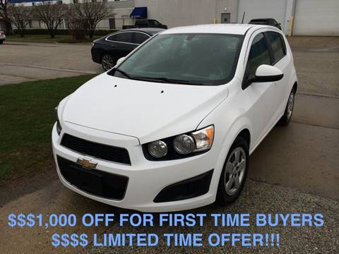 2016 Chevrolet Sonic for sale in Bensenville, IL