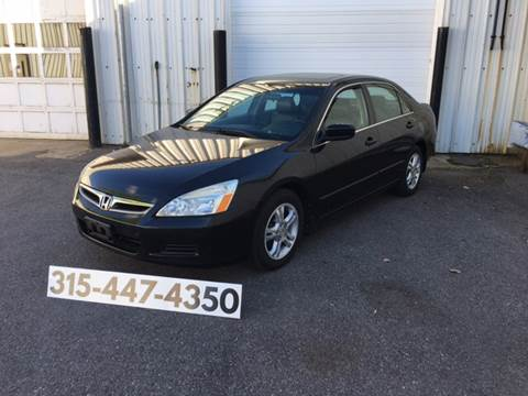 2007 Honda Accord for sale at Dominic Sales LTD in Syracuse NY