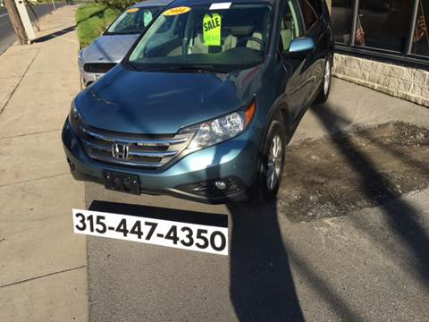 2014 Honda CR-V for sale at Dominic Sales LTD in Syracuse NY