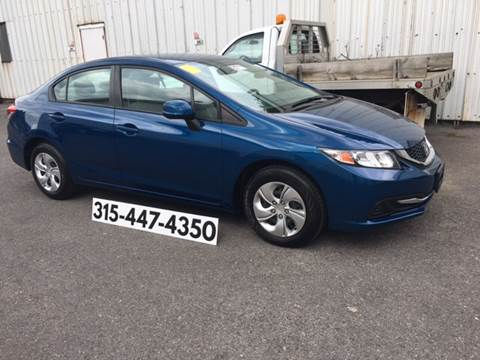 2013 Honda Civic for sale at Dominic Sales LTD in Syracuse NY