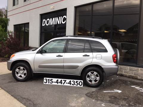2004 Toyota RAV4 for sale at Dominic Sales LTD in Syracuse NY