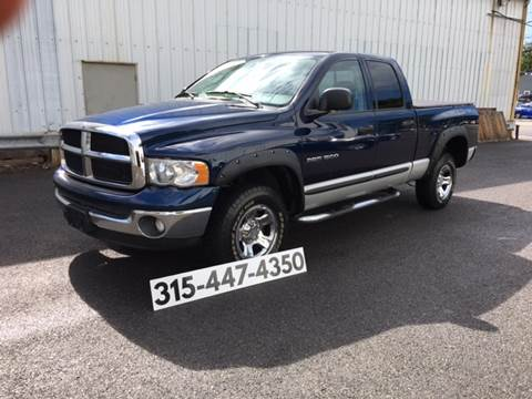 2003 Dodge Ram Pickup 1500 for sale at Dominic Sales LTD in Syracuse NY