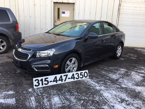2016 Chevrolet Cruze Limited For Sale In Syracuse NY