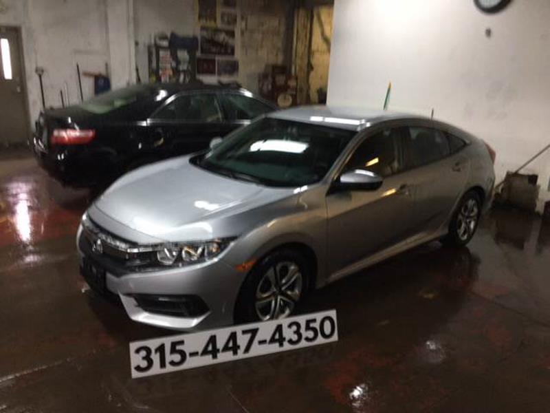 2017 Honda Civic for sale at Dominic Sales LTD in Syracuse NY