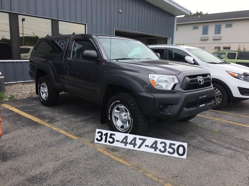 2012 Toyota Tacoma for sale at Dominic Sales LTD in Syracuse NY