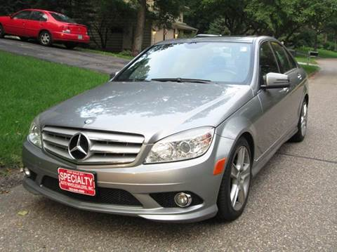 2010 Mercedes-Benz C-Class for sale at Specialty Auto Wholesalers Inc in Eden Prairie MN