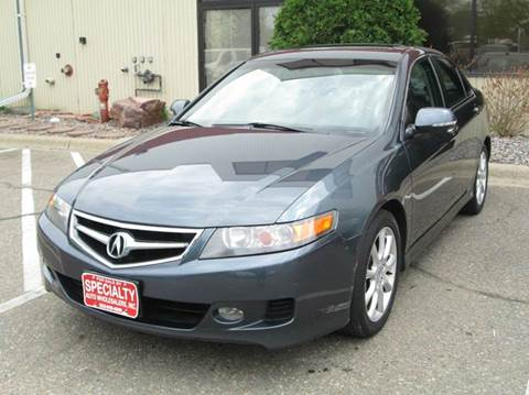 2006 Acura TSX for sale at Specialty Auto Wholesalers Inc in Eden Prairie MN