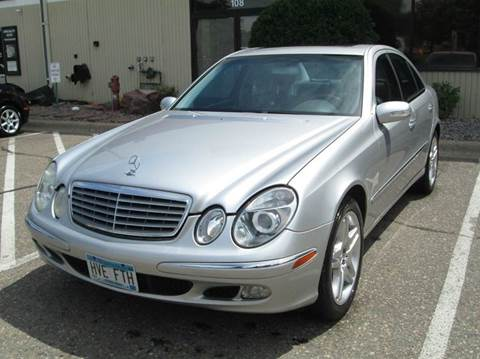 2004 Mercedes-Benz E-Class for sale at Specialty Auto Wholesalers Inc in Eden Prairie MN