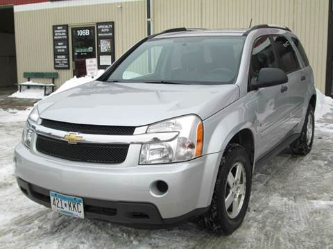 2009 Chevrolet Equinox for sale at Specialty Auto Wholesalers Inc in Eden Prairie MN