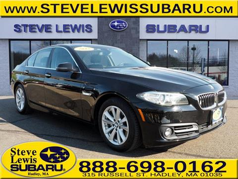 2015 BMW 5 Series for sale in Hadley, MA