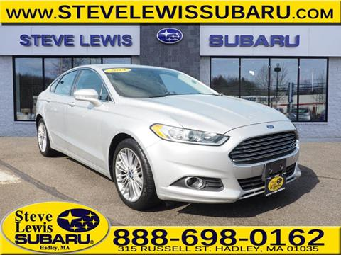 2014 Ford Fusion for sale in Hadley MA