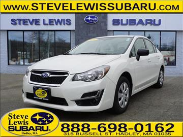 2016 Subaru Impreza for sale in Hadley, MA