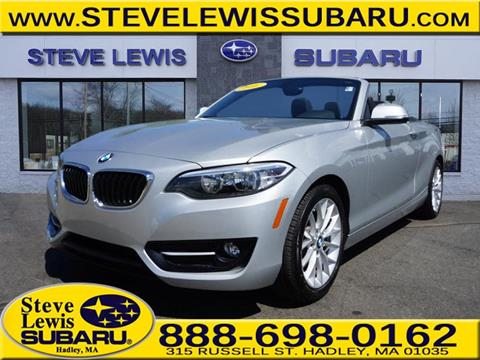 2016 BMW 2 Series for sale in Hadley MA