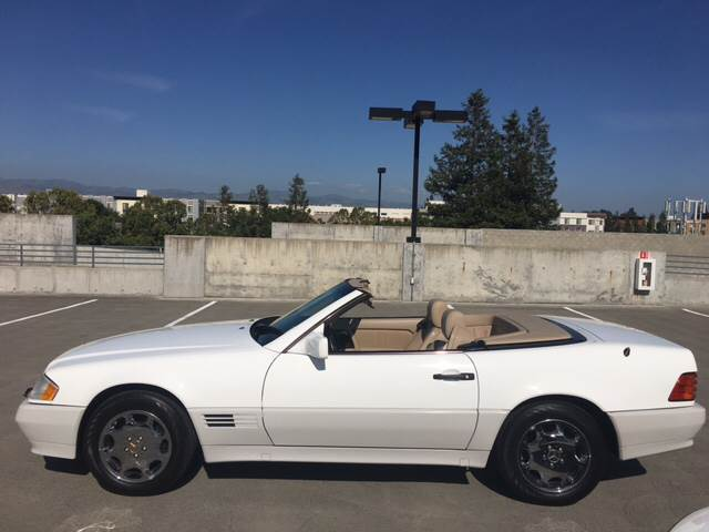 1995 MERCEDES-BENZ SL-CLASS SL 500 2DR CONVERTIBLE white its included soft and hard top clean t