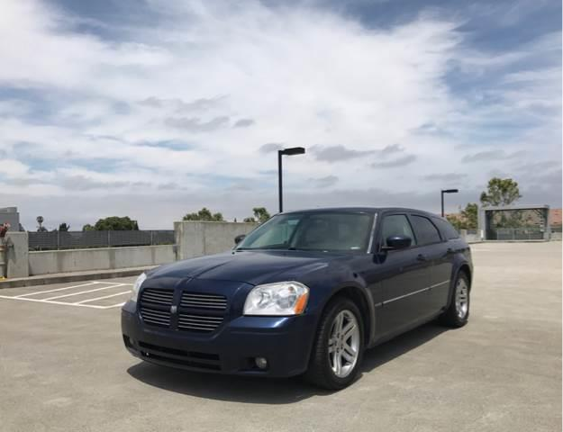 2006 DODGE MAGNUM RT 4DR WAGON blue abs - 4-wheel adjustable pedals - power airbag deactivation