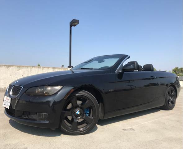 2010 BMW 3 SERIES 328I 2DR CONVERTIBLE black 1-owner car runs and drives excellent clean title