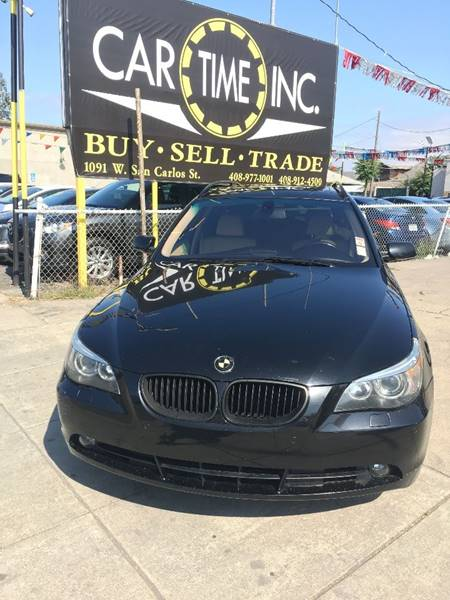2006 BMW 5 SERIES 530XI AWD 4DR WAGON black abs - 4-wheel air filtration airbag deactivation -