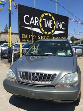 2001 Lexus RX 300 for sale at Car Time Inc in San Jose CA