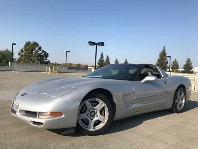 1999 CHEVROLET CORVETTE BASE 2DR HATCHBACK silver 6-speed manual transmission abs - 4-wheel am