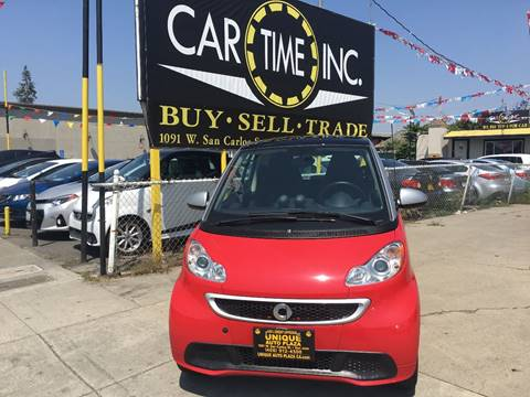 2013 Smart fortwo for sale at Car Time Inc in San Jose CA