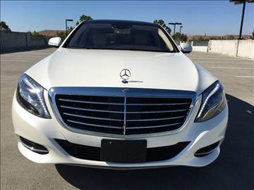 2014 Mercedes-Benz S-Class for sale at Car Time Inc in San Jose CA