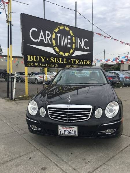 2007 MERCEDES-BENZ E-CLASS E 350 4DR SEDAN black 2-stage unlocking doors abs - 4-wheel active h
