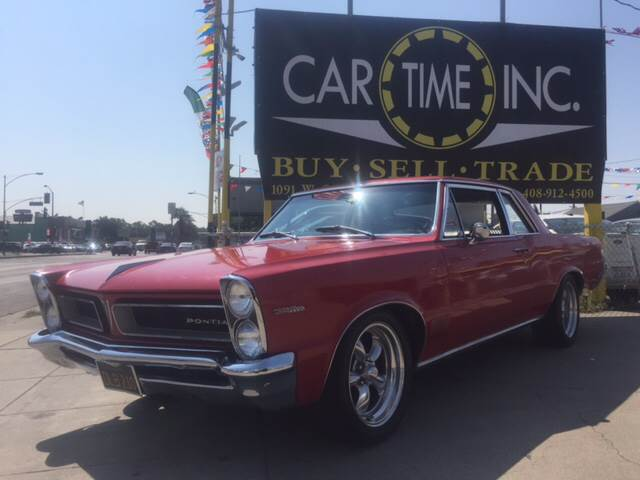 1965 PONTIAC LE MANS red super clean 72193 miles VIN 237275Z112888