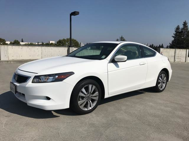 2009 HONDA ACCORD EX L 2DR COUPE 5A white abs - 4-wheel active head restraints - dual front air